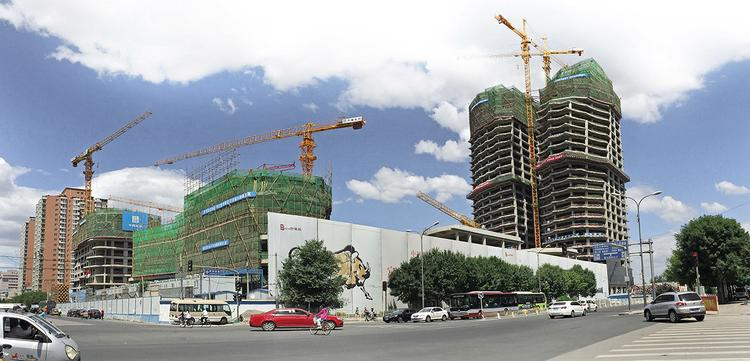 MAD_Chaoyang Park Plaza_Under Construction (2)