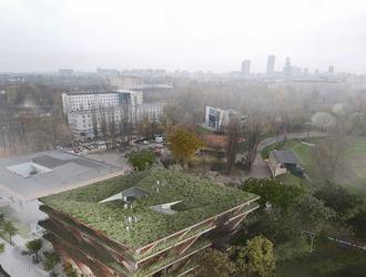 Nowy budynek SGH w Warszawie