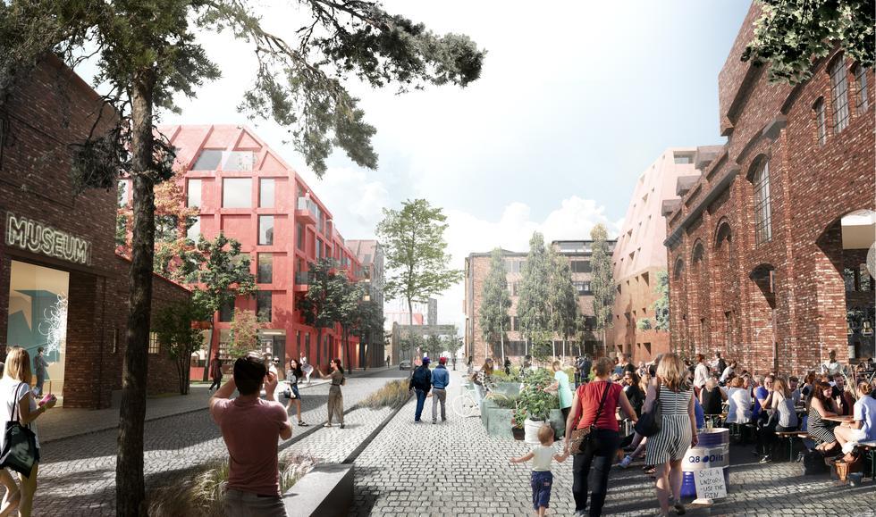 Henning Larsen zaprojektuje Stocznię Cesarską w Gdańsku!