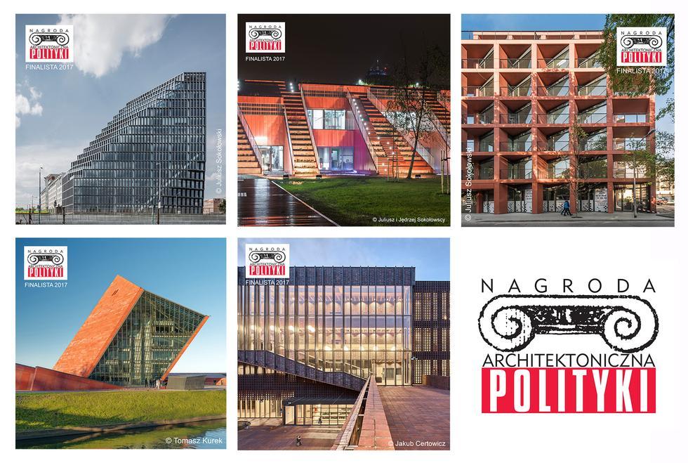 Znamy finalistów Nagrody Architektonicznej POLITYKI 2017