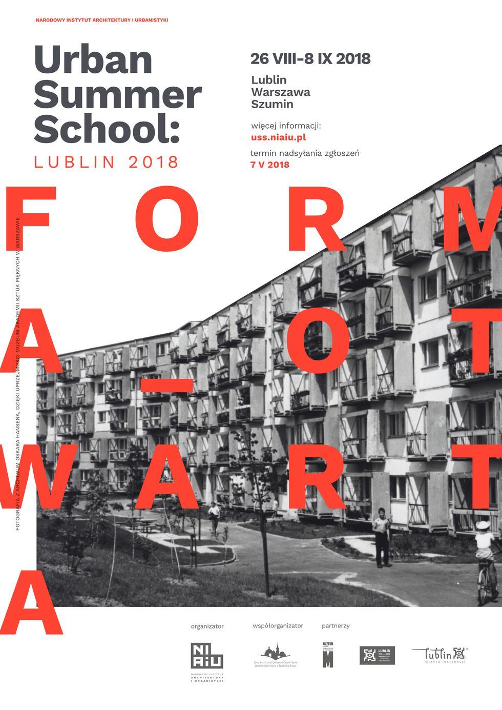 Urban Summer School - Lublin, Warszawa, Szumin