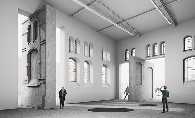 PLATO Ostrava: galeria sztuki wOstrawie projektu KWK Promes Robert Konieczny