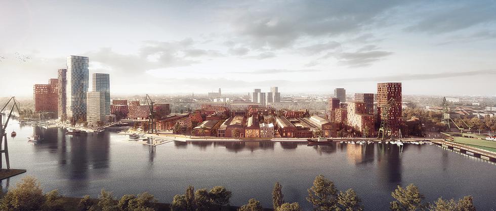 Masterplan dla Stoczni Cesarskiej w Gdańsku