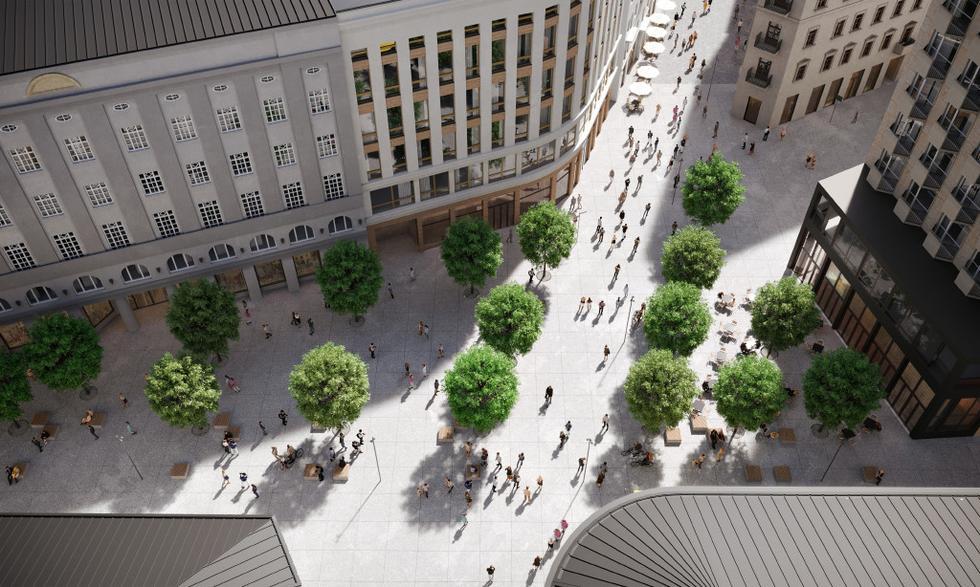 Nowa koncepcja dla Placu Pięciu Rogów