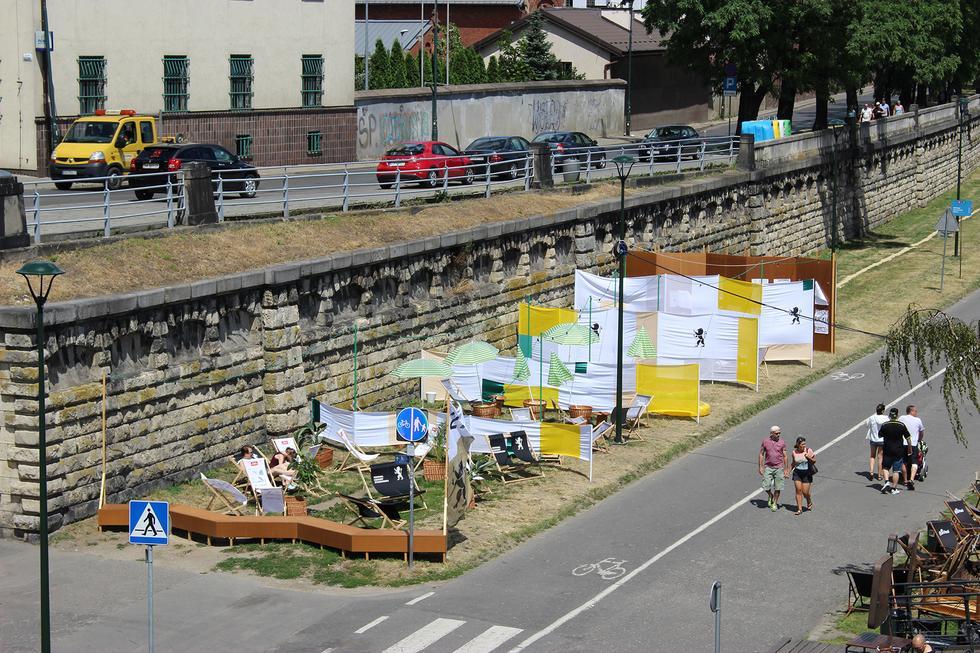 Tymczasowy urbanizm dla Festiwalu Kultury Żydowskiej