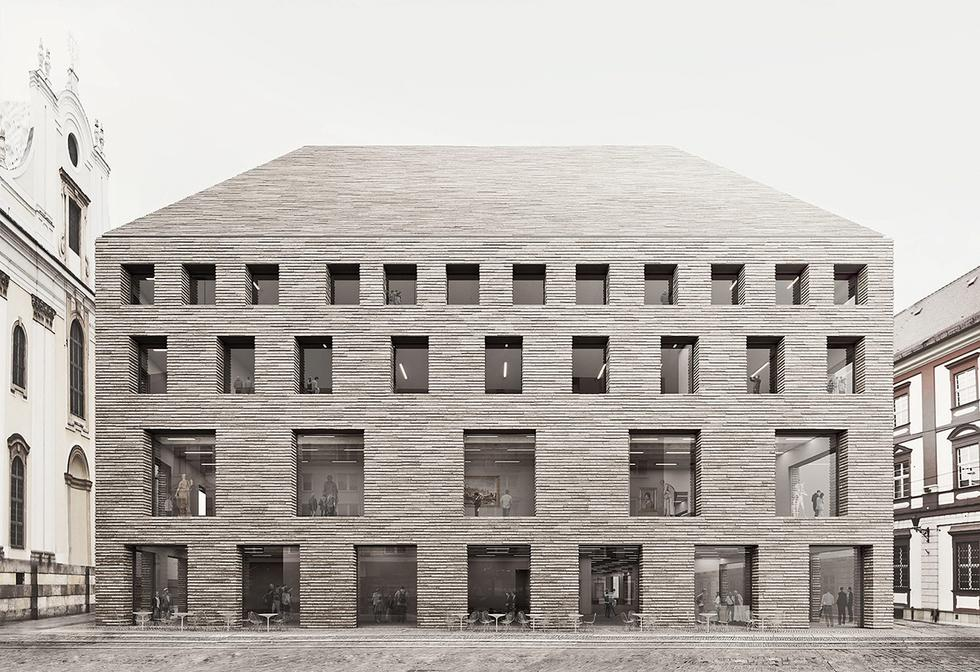 Konkurs na projekt nowego muzeum, które ma stanąć obok gmachu Ossolineum w centrum Wrocławia wygrała pracownia WXCA.