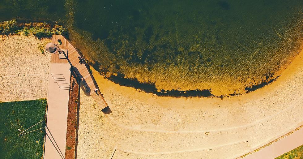 Zagospodarowanie nabrzeży zalewu Bagry