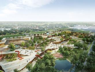 Nowe centrum Wilanowa według Atelier Thomas Pucher