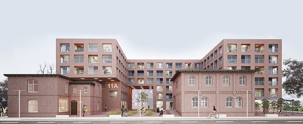 Budynek mieszkalny przy ul. Hallera w Rybniku
