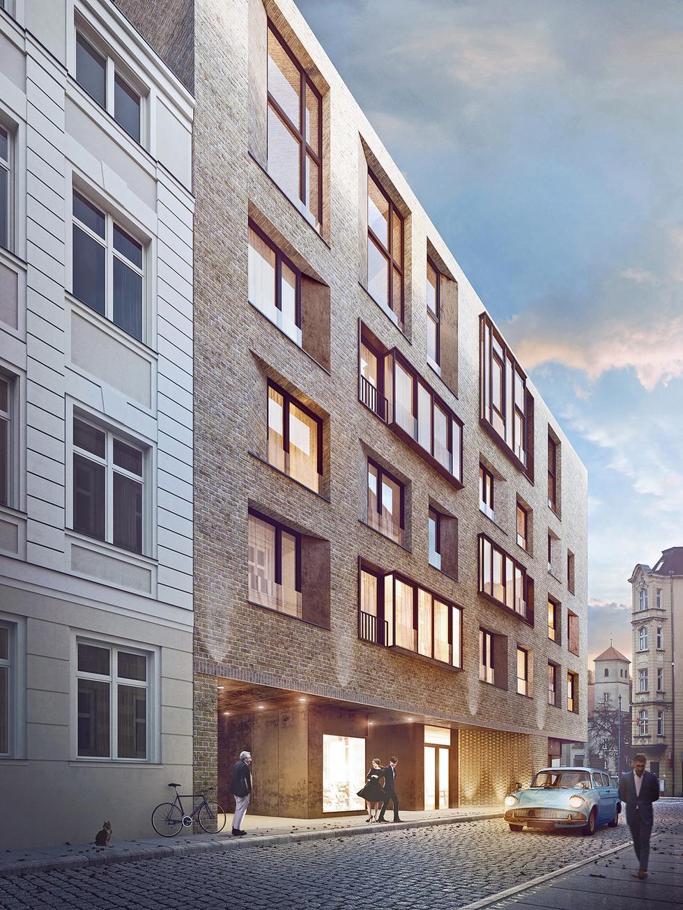 Apartamentowiec przy ul. Za Bramką w Poznaniu