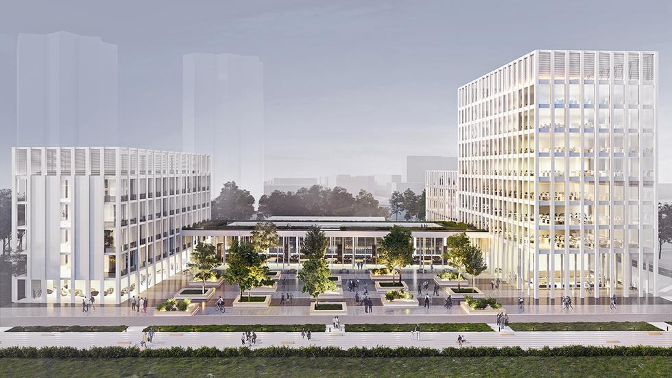 Masterplan dla kampusu w Katowicach