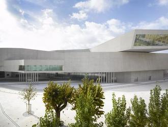 Muzeum XXI wieku w Rzymie MAXXI znanej architektki Zahy Hadid jest teraz oficjalnie najlepszym budynkiem na świecie