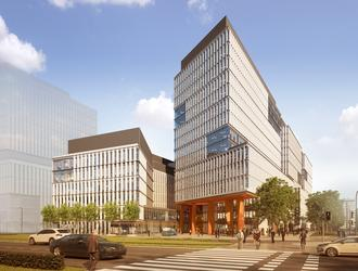 Centrum Południe – nowy kompleks biurowy przy Sky Tower we Wrocławiu