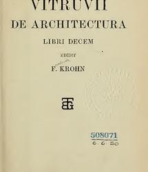 Vitruvii. De architectura libri decem