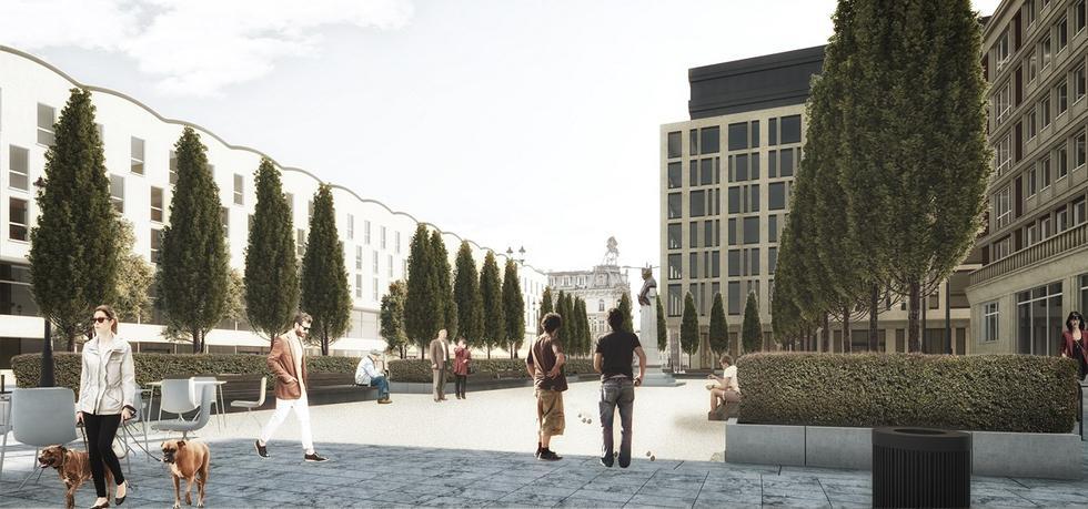 Rewitalizacja placu Powstańców Warszawy