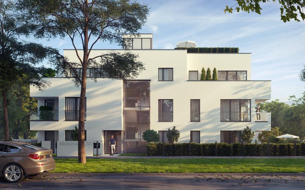 Żoliborska willa według projektu biura Bulanda, Mucha – Architekci