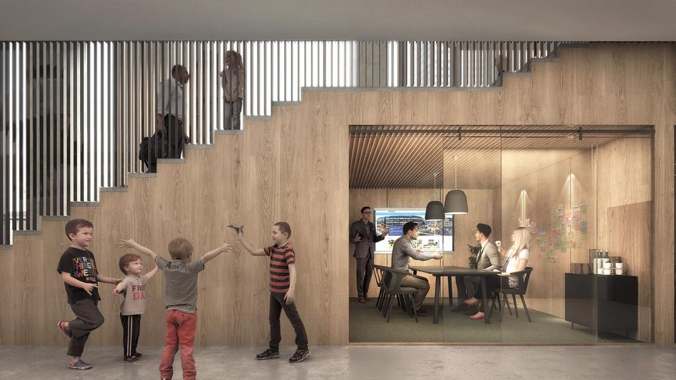 Hygge w nowych biurowcach Skanska