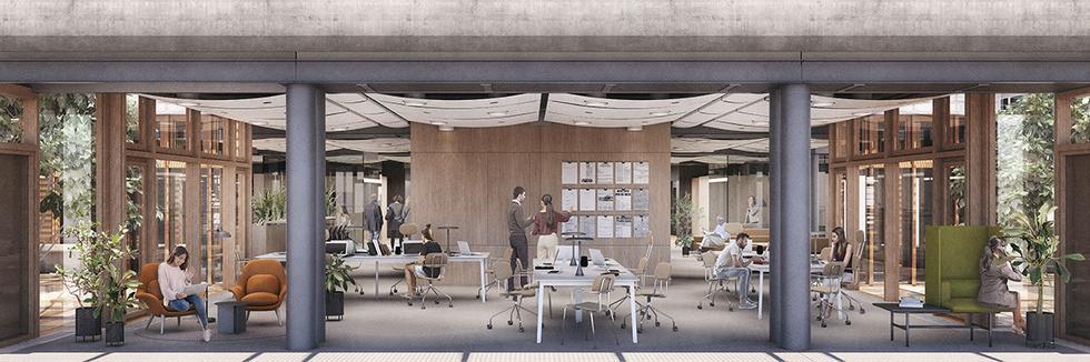 Modernizacja wnętrz siedziby wydawnictwa Agora w Warszawie