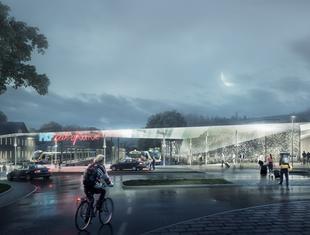 Nowy dworzec w Zakopanem