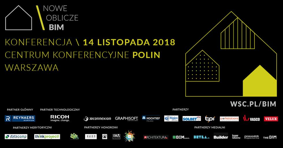 NOWE OBLICZE BIM 2018 – prelekcje i warsztaty!