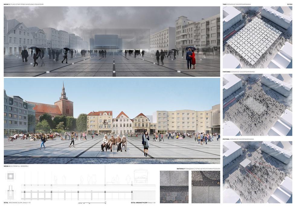 Zagospodarowania Starego Rynku w Słupsku