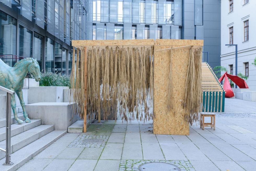 Sukkot – let's build a tent! Podsumowanie warsztatów projektowych z okazji Święta Kuczek
