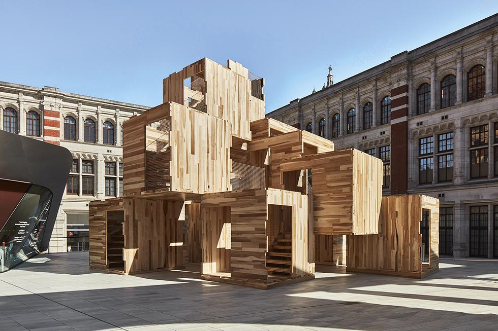 Dom zmultiplikowany – London Design Festival