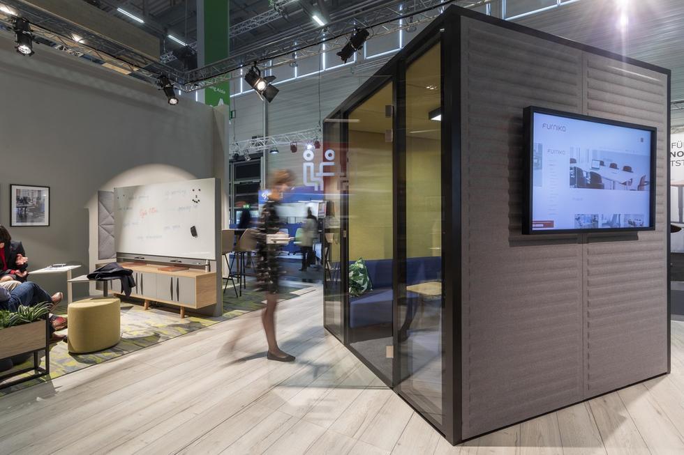 Orgatec 2018 – przestrzeń Agile Working według Furniko