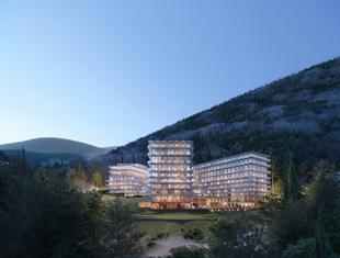 Crystal Mountain – w Wiśle powstanie pięciogwiazdkowy hotel projektu Q2Studio