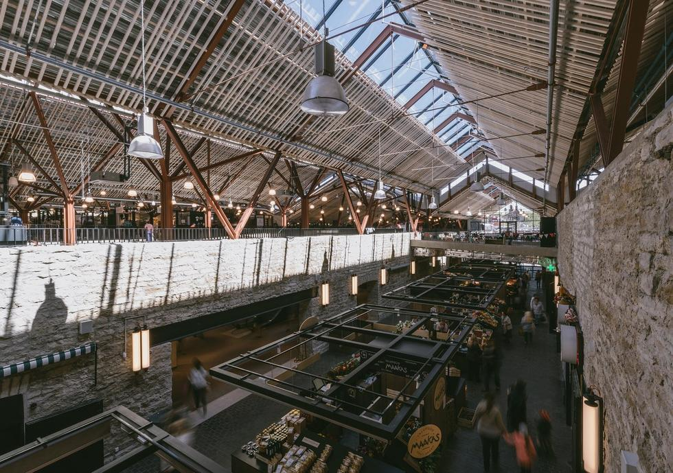 Targowisko Baltic Station w Tallinie