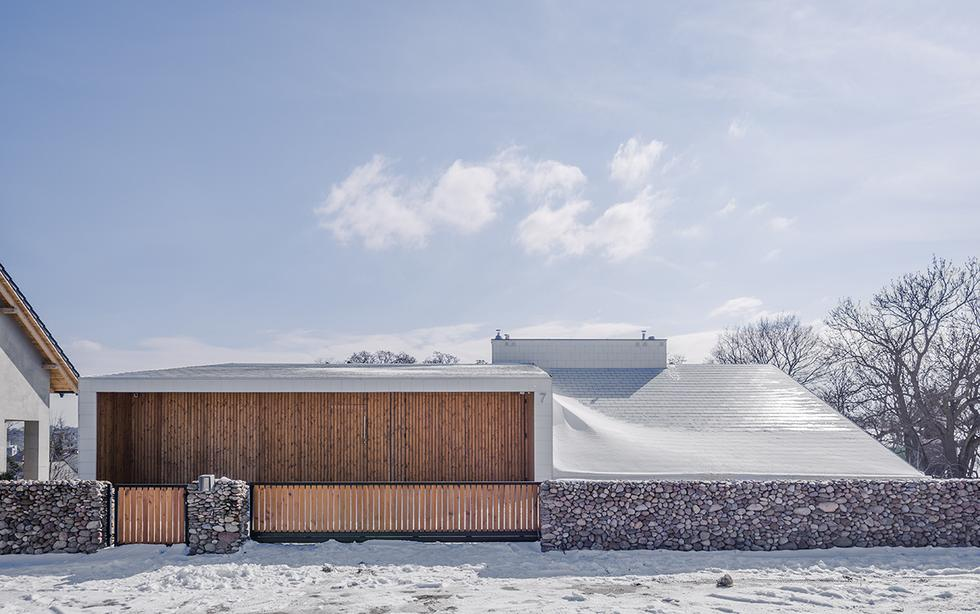 Dom na skarpie na Dolnym Śląsku