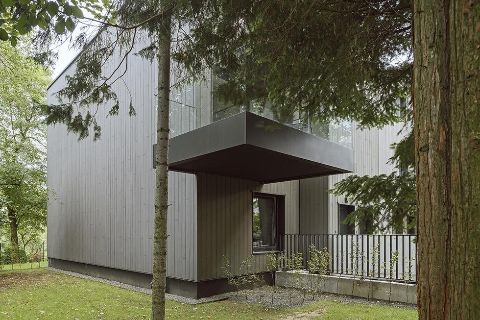 Zespół mieszkaniowy Wood House w Krakowie
