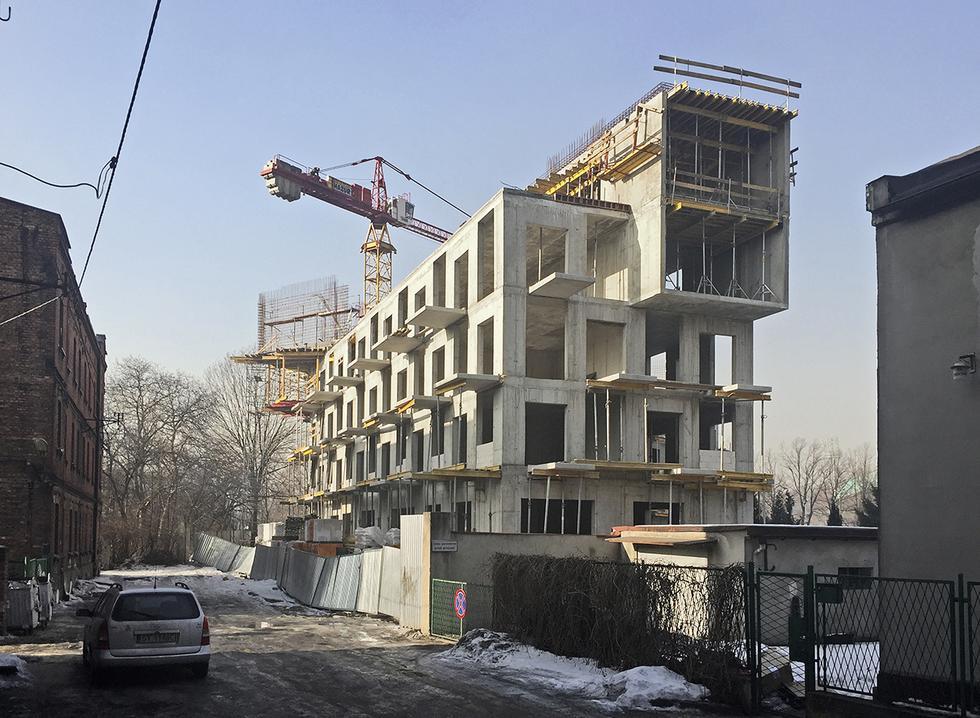 Blok wielorodzinny Baildomb w Katowicach