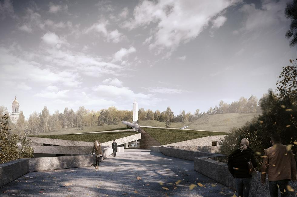 Muzeum Ofiar Wielkiego Głodu w Kijowie zaprojektowali Polacy