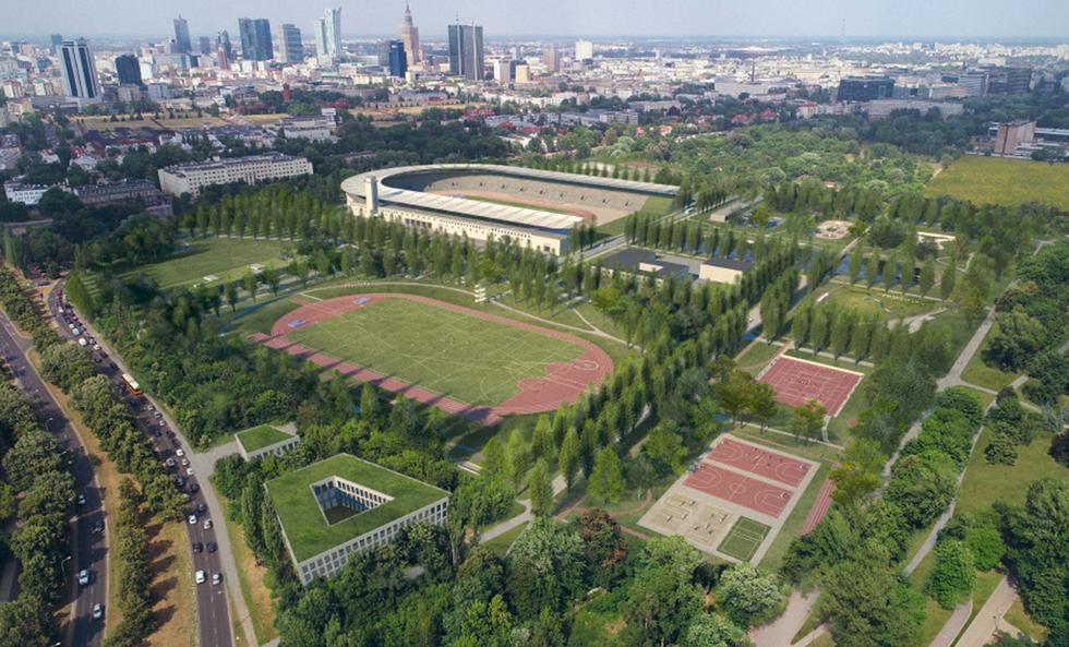 Modernizacja stadionu Skry w Warszawie