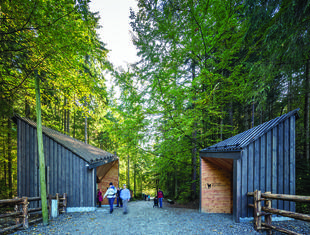 Pawilony wejściowe do Tatrzańskiego Parku Narodowego