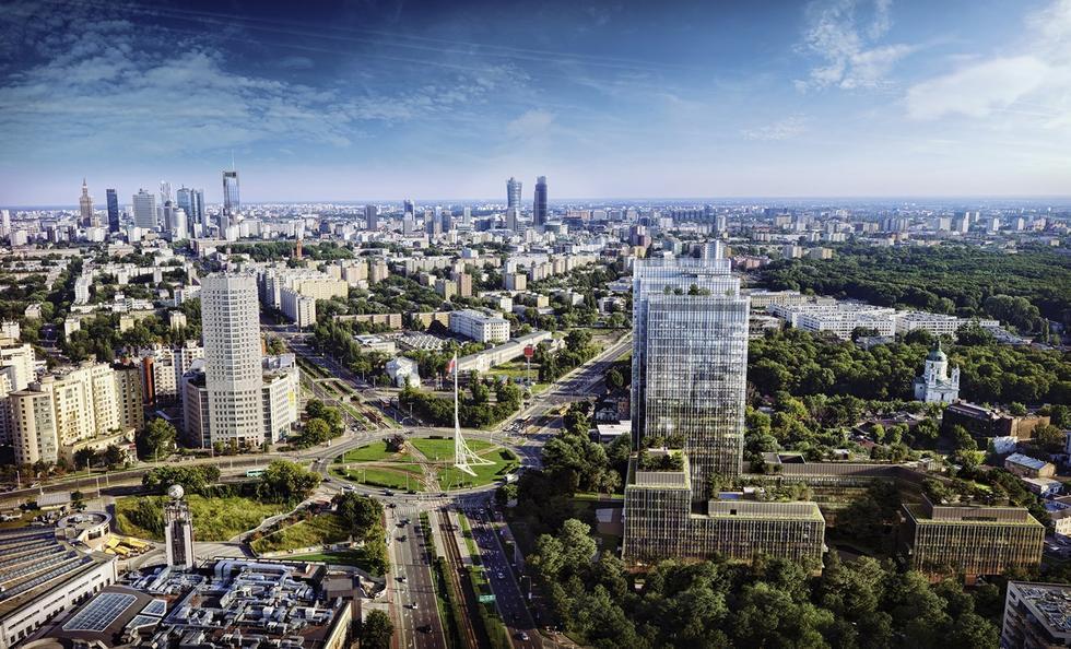 Zespół biurowy Forest w Warszawie