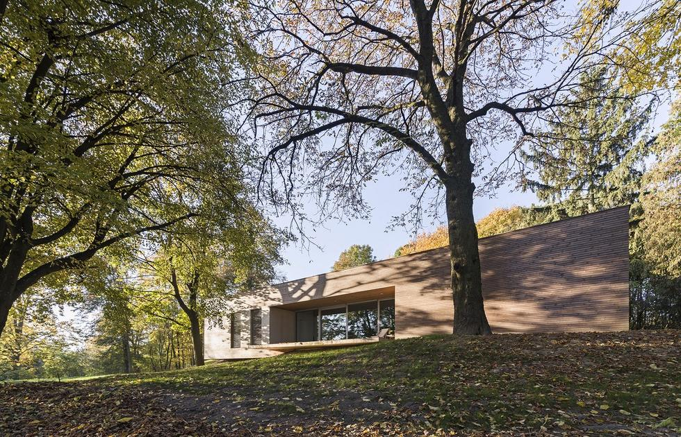 Dom w Lesie projektu pracowni 081 architekci