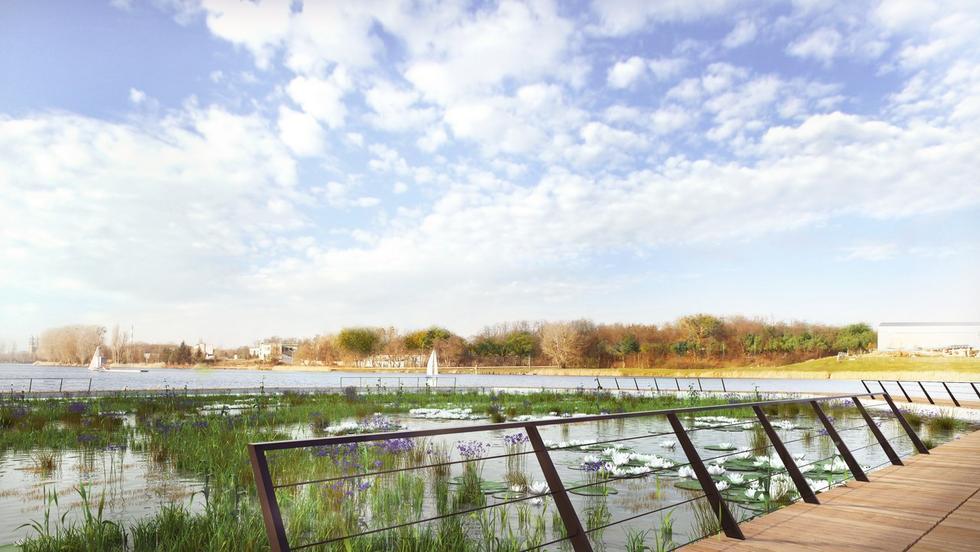 Zagospodarowanie kąpieliska nad Jeziorem Maltańskim