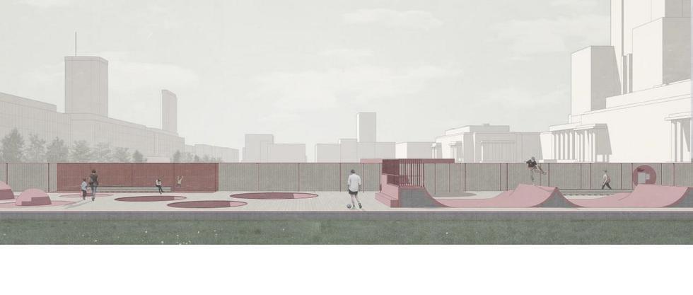 Wizualizacja Skweru Aktywnosci Miejskiej 1 (Copy)