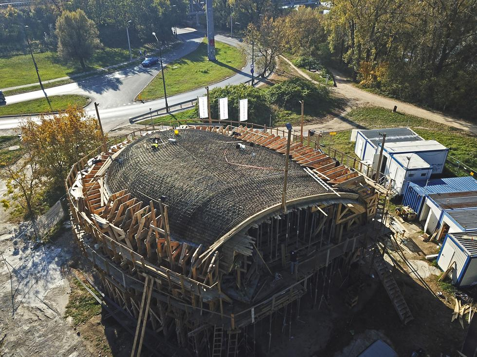 Pawilon edukacyjny na warszawskim Golędzinowie