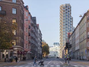 Wieżowce Norra Tornen w Sztokholmie