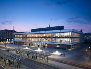 Renowacja Kulturpalast w Dreźnie: najlepsza architektura Niemiec