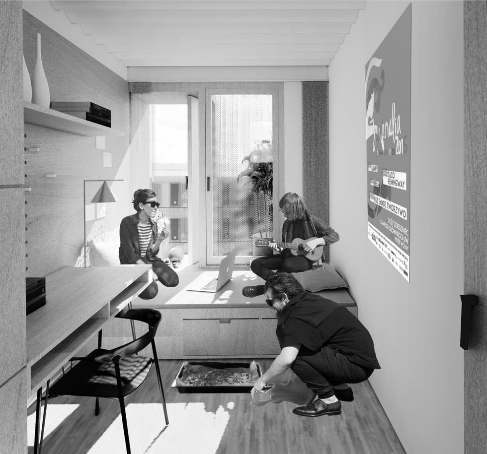 Dom studencki w Kampusie Służewiec – wyniki konkursu
