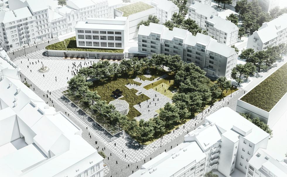 Wyniki konkursu na plac Orła Białego w Szczecinie