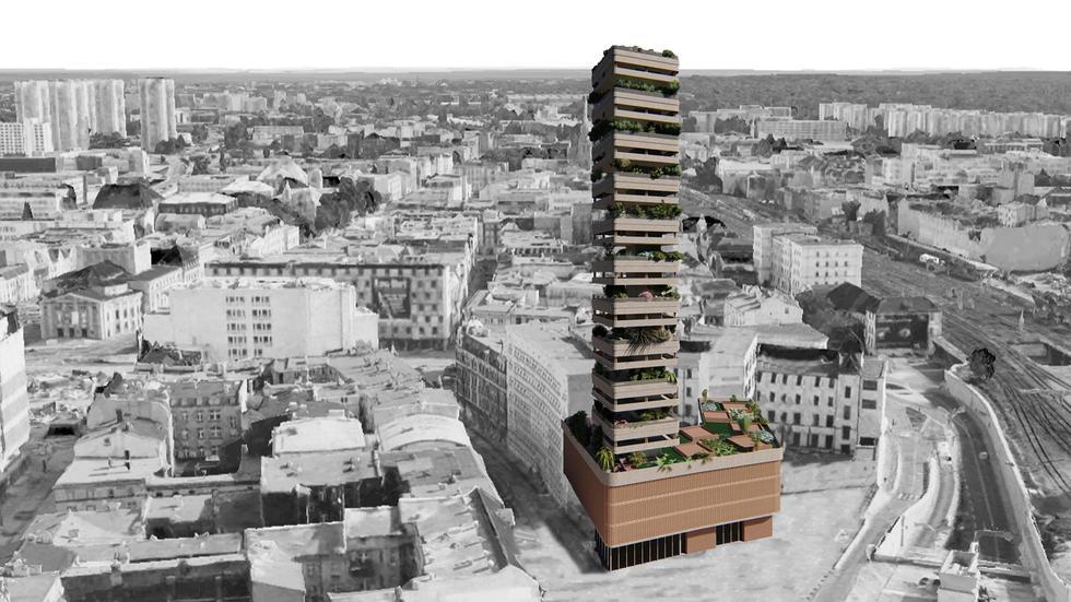 Polacy docenieni w międzynarodowym konkursie na projekt wertykalnego miasta