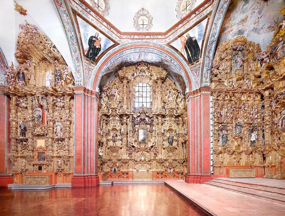 Architektura Meksyku w obiektywie Candidy Höfer