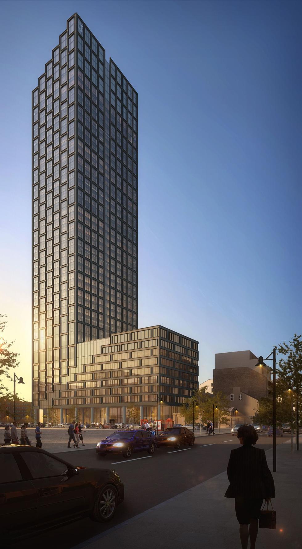 Liberty Tower – nowa koncepcja wieżowca na warszawskiej Woli