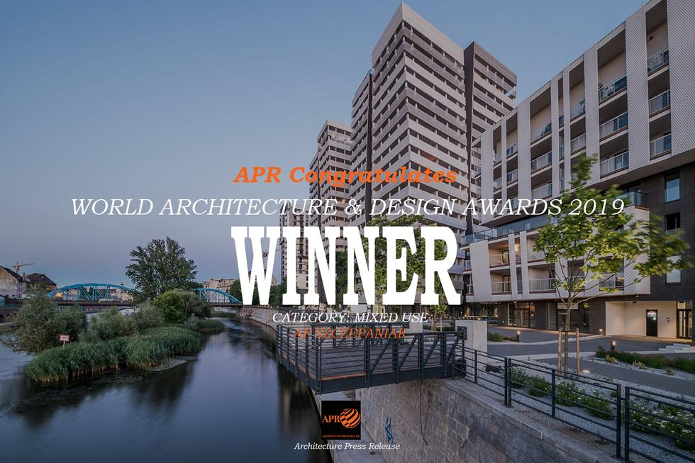Wrocławscy architekci z główną nagrodą World Architecture & Design Awards 2019 w kategorii Mixed Use