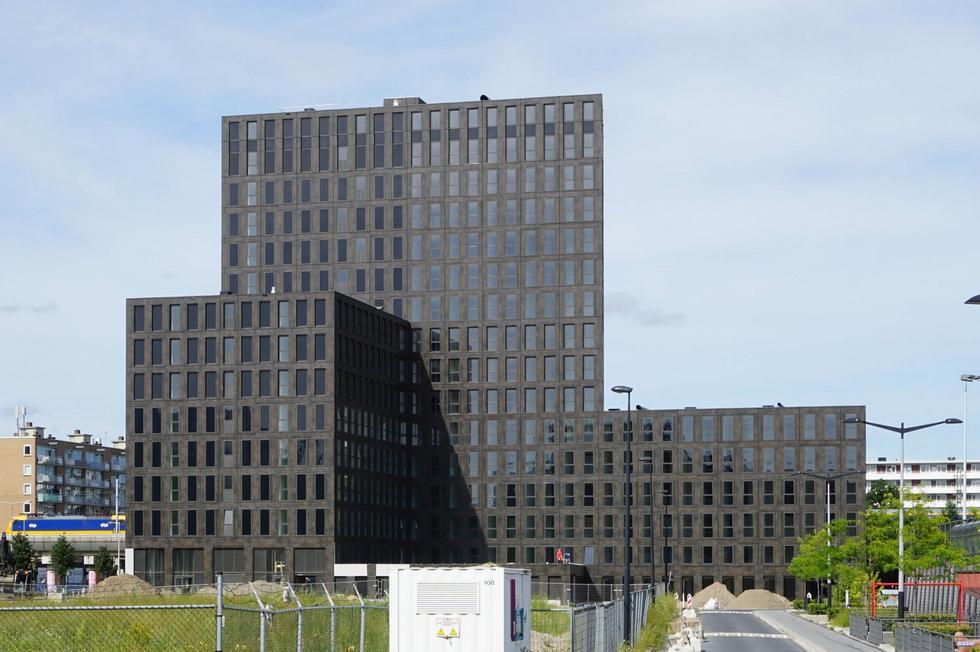 De Spartaan – prefabrykowany akademik w Amsterdamie